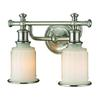 ELK lighting Acadia 2 Light Vanity In Brushed Nickel