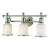 Acadia 3 Light Vanity In Brushed Nickel