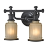 ELK lighting Acadia 2 Light Vanity In Oil Rubbed Bronze