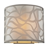 ELK lighting Autumn Breeze 1 Light Wall Sconce In Brushed Nickel