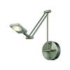 ELK lighting Reilly 1 Light Swingarm In Brushed Nickel And Brushed Aluminum
