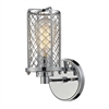 ELK lighting Brisbane 1 Light Wall Sconce In Polished Chrome