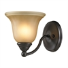 Cornerstone Shelburne 1 Light Bathbar  In Oil Rubbed Bronze