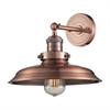 Newberry 1 Light Wall Sconce In Antique Copper