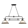 ELK lighting Wilmington 2 Light Billiard In Oil Rubbed Bronze