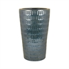 Malaya Umbrella Stand, Textured Denim