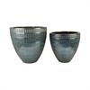 Pomeroy Malaya S2 Bowls, Textured Denim