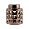Tumbler Jar Small, Artisan Bronze