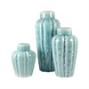 Ripples Set of 3 Jars, Seaspray
