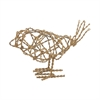 Brass Scribble Bird - Small