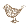 Brass Scribble Bird - Large