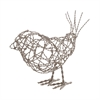 Nickel Scribble Bird - Lg