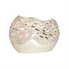 Ondine 9.5-Inch Vase, Pearl