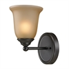 Sudbury 1 Light Bathbar In Oil Rubbed Bronze