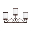 Caballero Mantle Lighting, Montana Rustic,Clear