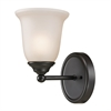 Cornerstone Sudbury 1 Light Bathbar  In Oil Rubbed Bronze