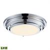 ELK lighting Sonoma 23 Watt LED Flushmount In Polished Chrome