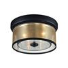 ELK lighting Diffusion 2 Light Flushmount In Oil Rubbed Bronze