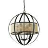 ELK lighting Diffusion 4 Light Chandelier In Oil Rubbed Bronze