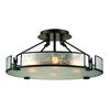 ELK lighting Lindhurst 4 Light Pendant In Oil Rubbed Bronze