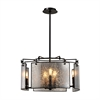 Lindhurst 8 Light Pendant In Oil Rubbed Bronze