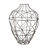 Wire Vessel In Russet - Small