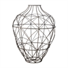 Wire Vessel In Russet - Large