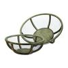 Lazy Susan Wire Atlas Dishes-Set Of 2