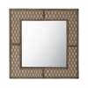 Lazy Susan Canvas Wire Mirror