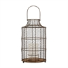Lazy Susan Chicken wire Hurricane - Small.