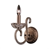 ELK lighting Elizabethan 1 Light Wall Sconce In Dark Bronze