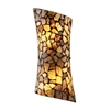 ELK lighting Trego 2 Light Sconce In Dark Rust