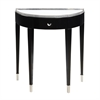 Sterling Black Tie Hall Table