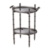Tyrella Silver Tray Table