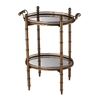 Tyrella Gold Tray Table