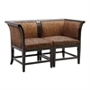 Sterling Vaughn Corner Chair Settee