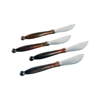 Pomeroy Burnham Set of 4 Spreaders, Burned Copper,Silver