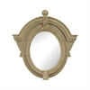 Parisian Dormer Mirror In Warm White