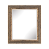Cognac Composite Frame Wall Mirror In Rust And Gold