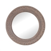 Messina Composite Frame Wall Mirror In Rust