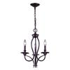 ELK lighting Medford 3 Light Chandelier In Oiled Bronze