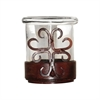 Pomeroy Tejas Table Votive, Montana Rustic,Clear