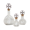 Tejas Set of 3 Decanters