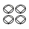Lex Set of 4 Round  Trivets