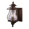 ELK lighting Wikshire 1 Light Outdoor Wall Mount In Coffee Bronze