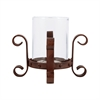 Pomeroy Teton Pillar Holder, Montana Rustic,Clear