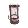 Pomeroy Tuscon Large Lantern, Montana Rustic,Clear