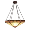 ELK lighting Filigree 3 Light Pendant In Aged Bronze