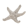 Lazy Susan Silver Sea Star - Lg