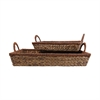 Saigon Set of 2 Trays, Natural